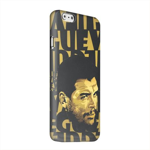 Geeks Designer Line (GDL) Apple iPhone 6 Matte Hard Back Cover - Che Guevara Serious Man on Gold