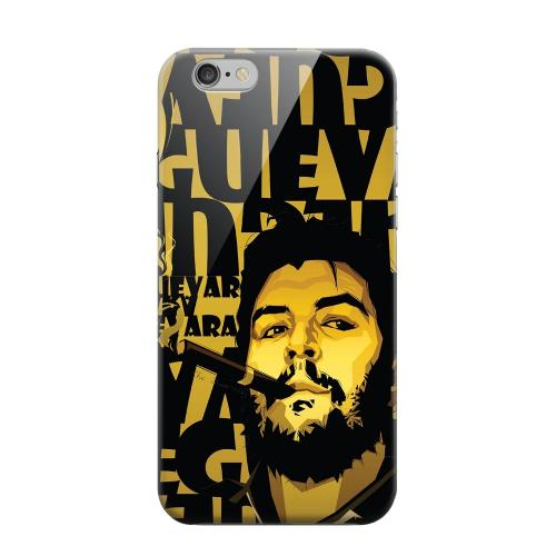 Geeks Designer Line (GDL) Apple iPhone 6 Matte Hard Back Cover - Che Guevara Smoke Gold