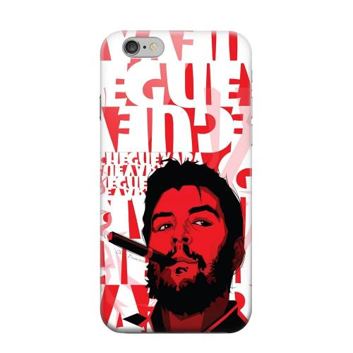 Geeks Designer Line (GDL) Apple iPhone 6 Matte Hard Back Cover - Che Guevara Smoke Red