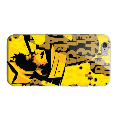 Geeks Designer Line (GDL) Apple iPhone 6 Matte Hard Back Cover - Yellow Fidelity