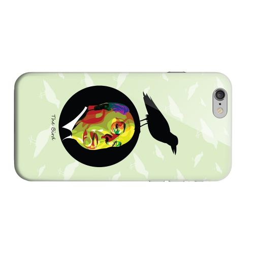 Geeks Designer Line (GDL) Apple iPhone 6 Matte Hard Back Cover - Hitchcock Birds