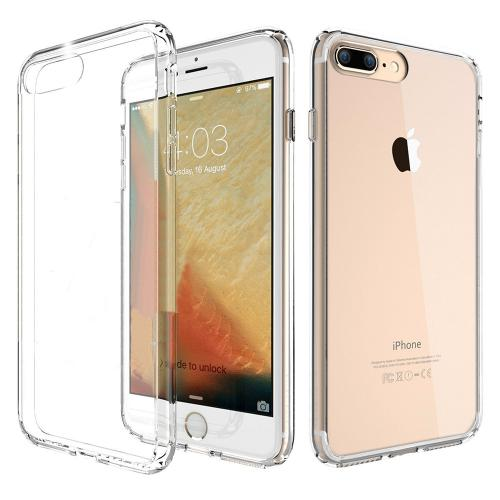 Apple iPhone 7 Plus (5.5 inch) Hard Case, REDshield Slim & Protective Crystal Glossy Snap-on Hard Polycarbonate Plastic Case Cover [Clear]
