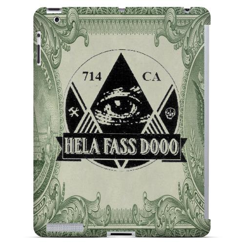 HFD Illuminati Hard Plastic Case for Apple iPad 2