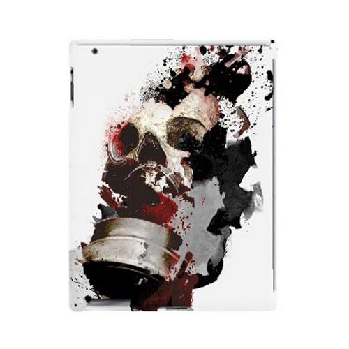 Geeks Designer Line (GDL) Apocalyptic Series Apple iPad (2nd & 3rd Gen.) Hard Back Cover - The Addict