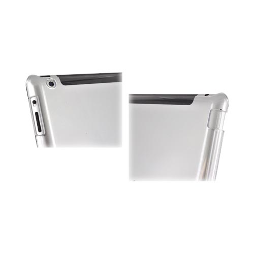 Apple New iPad (3rd Gen.) Hard Case - Transparent Clear (Works with Smart Cover!)