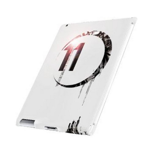 Geeks Designer Line (GDL) Retro Series Apple iPad (2nd & 3rd Gen.) Slim Hard Back Cover - Moon 11
