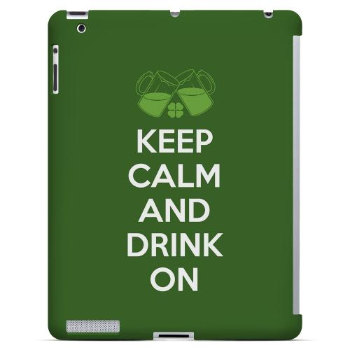 Drink On - Geeks Designer Line Holiday Series Hard Case for Apple iPad (3rd & 4th Gen.)