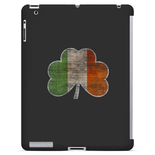 Irish Clover Flag - Geeks Designer Line Holiday Series Hard Case for Apple iPad (3rd & 4th Gen.)