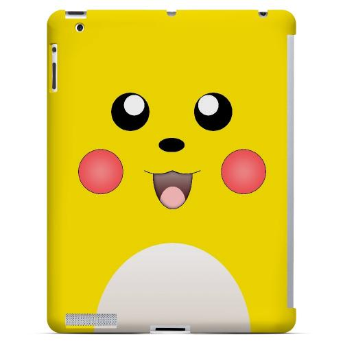 Bunnichu - Geeks Designer Line Toon Series Hard Case for Apple iPad (3rd & 4th Gen.)