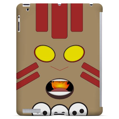 Yogayoga - Geeks Designer Line Toon Series Hard Case for Apple iPad (3rd & 4th Gen.)