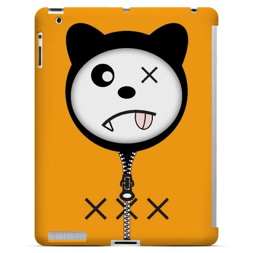 XXX - Geeks Designer Line Hoodie Kitty Series Hard Case for Apple iPad (3rd & 4th Gen.)
