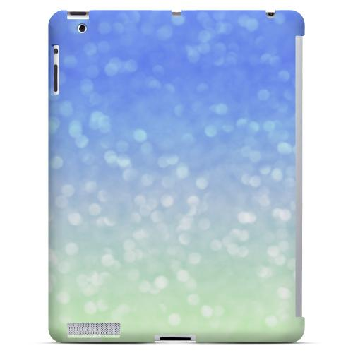 Menthe Blue - Geeks Designer Line Ombre Series Hard Case for Apple iPad (3rd & 4th Gen.)
