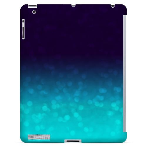 Sparkling Sea - Geeks Designer Line Ombre Series Hard Case for Apple iPad (3rd & 4th Gen.)