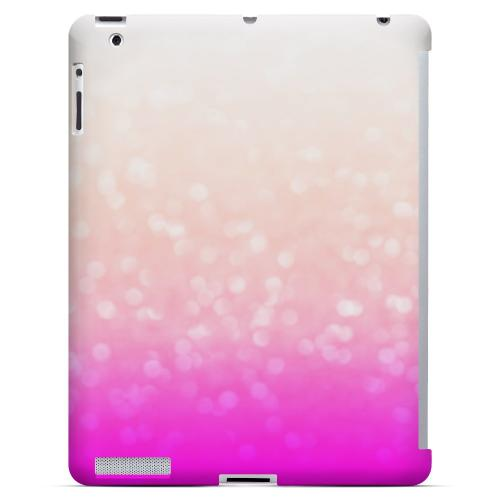 Deep Blush - Geeks Designer Line Ombre Series Hard Case for Apple iPad (3rd & 4th Gen.)