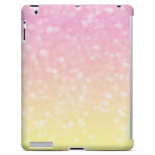 Bubble Gum Squeeze - Geeks Designer Line Ombre Series Hard Case for Apple iPad (3rd & 4th Gen.)