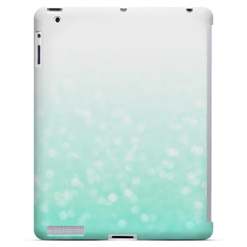 Crystal Menthe - Geeks Designer Line Ombre Series Hard Case for Apple iPad (3rd & 4th Gen.)