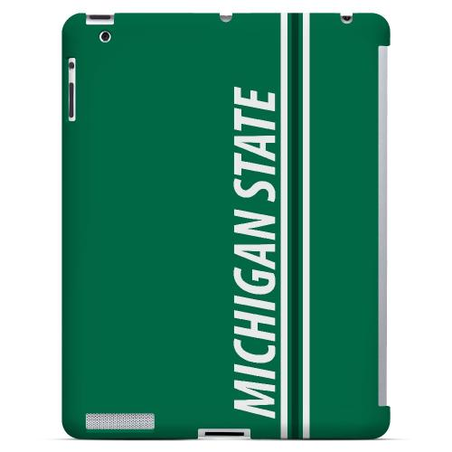 Michigan State - Geeks Designer Line March Madness Series Hard Case for Apple iPad (3rd & 4th Gen.)