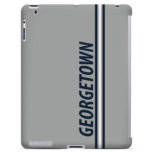 Georgetown - Geeks Designer Line March Madness Series Hard Case for Apple iPad (3rd & 4th Gen.)