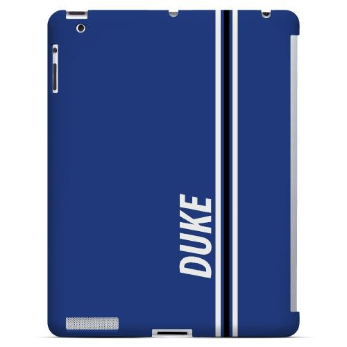 Duke - Geeks Designer Line March Madness Series Hard Case for Apple iPad (3rd & 4th Gen.)