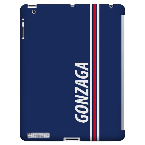 Gonzaga - Geeks Designer Line March Madness Series Hard Case for Apple iPad (3rd & 4th Gen.)