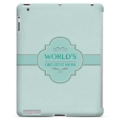Vintage World's Greatest Mom - Geeks Designer Line Mom Series Hard Case for Apple iPad (3rd & 4th Gen.)