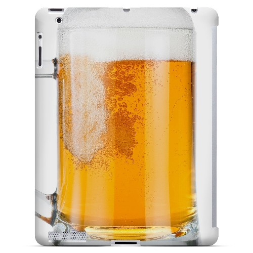 Beer Mug - Geeks Designer Line Humor Series Hard Case for Apple iPad (3rd & 4th Gen.)