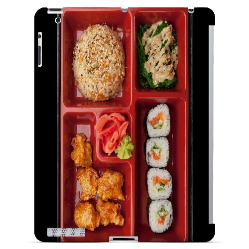 Bento Box - Geeks Designer Line Humor Series Hard Case for Apple iPad (3rd & 4th Gen.)