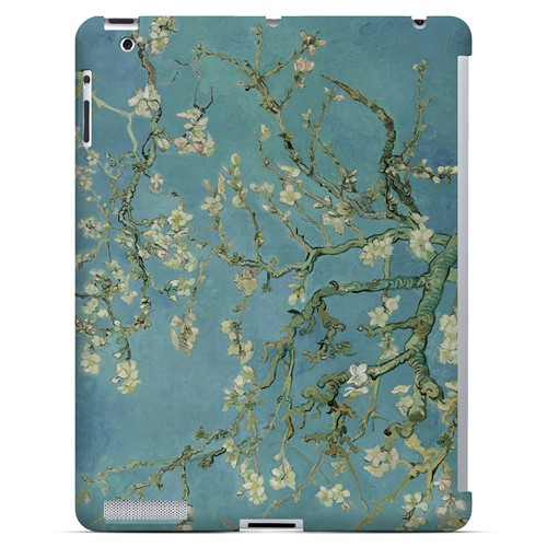 Almond Blossom by Vincent van Gogh - Geeks Designer Line Artist Series Hard Case for Apple iPad (3rd & 4th Gen.)