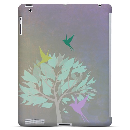 Swallow Flight - Geeks Designer Line Spring Series Hard Case for Apple iPad (3rd & 4th Gen.)