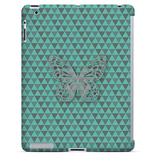 Butterfly Crypsis - Geeks Designer Line Spring Series Hard Case for Apple iPad (3rd & 4th Gen.)