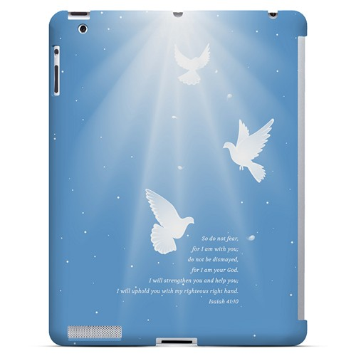 Isaiah 41:10 - Geeks Designer Line Bible Series Hard Case for Apple iPad (3rd & 4th Gen.)