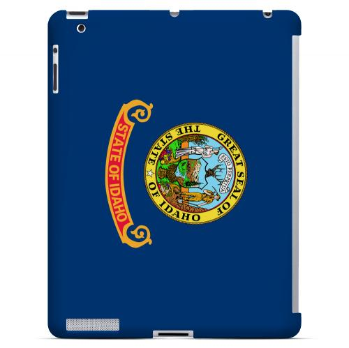 Idaho - Geeks Designer Line Flag Series Hard Back Case for Apple iPad 2nd Generation