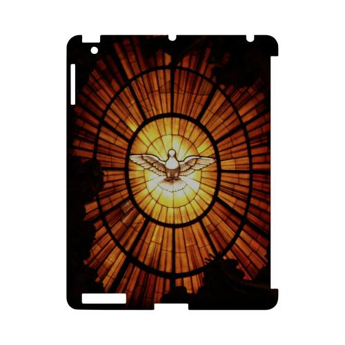 Holy Spirit Glass - Geeks Designer Line (GDL) Bible Verse Series Hard Back Cover for Apple iPad (3rd & 4th Gen.)