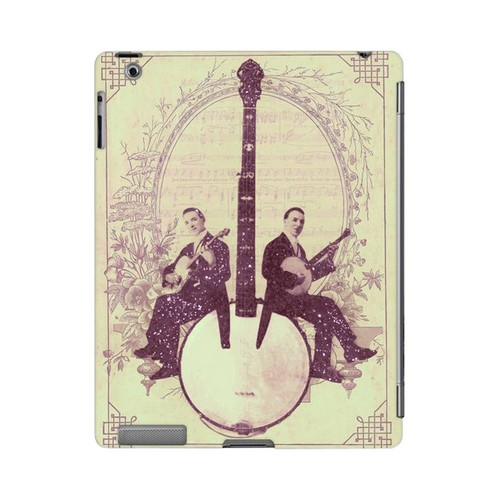 Folk Americana Nostalgia Series GDL Ultra Slim Hard Case for Apple iPad 2/3 Geeks Designer Line