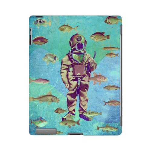 Bloop Bloop Americana Nostalgia Series GDL Ultra Slim Hard Case for Apple iPad 2/3 Geeks Designer Line