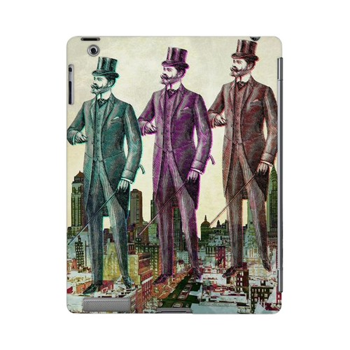 New York Like A Sir Americana Nostalgia Series GDL Ultra Slim Hard Case for Apple iPad 2/3 Geeks Designer Line