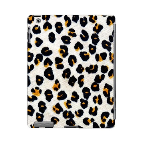 Albino Leopard Print Animal Series GDL Ultra Slim Hard Case for Apple iPad 2/3 Geeks Designer Line