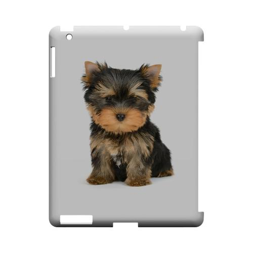 Yorkie Geeks Designer Line Puppy Series Slim Hard Case for Apple iPad (3rd & 4th Gen.)
