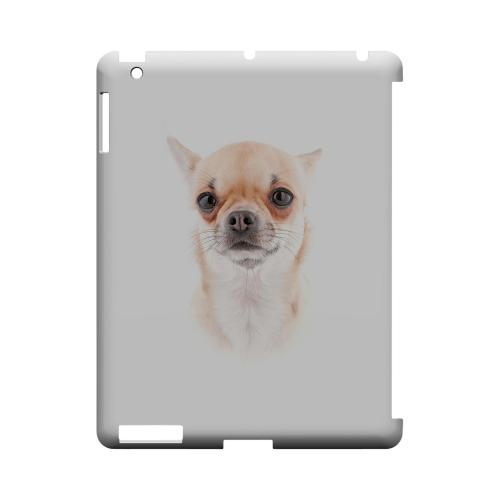 Chihuahua Geeks Designer Line Puppy Series Slim Hard Case for Apple iPad (3rd & 4th Gen.)