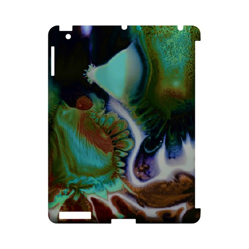 Shades of Eunmi - Geeks Designer Line (GDL) Asian Print Series Hard Back Cover for Apple iPad (3rd & 4th Gen.)