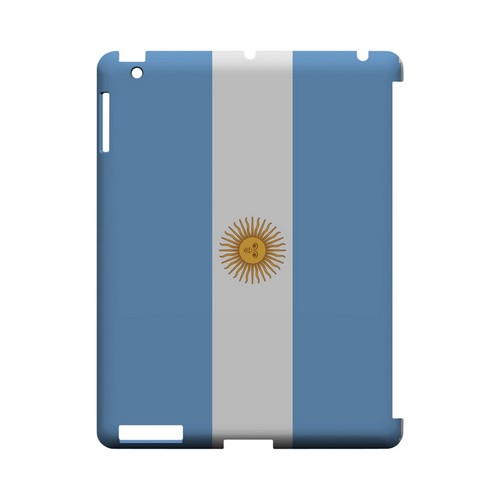 Argentina Geeks Designer Line Flag Series Slim Hard Case for Apple iPad (3rd & 4th Gen.)