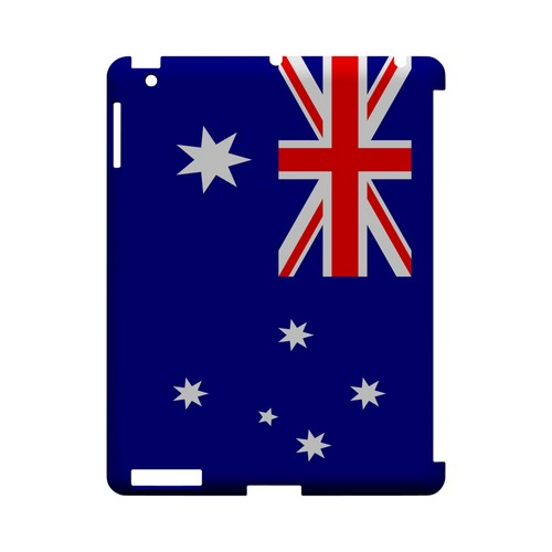 Australia Geeks Designer Line Flag Series Slim Hard Case for Apple iPad (3rd & 4th Gen.)
