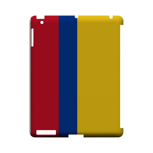 Colombia Geeks Designer Line Flag Series Slim Hard Case for Apple iPad (3rd & 4th Gen.)