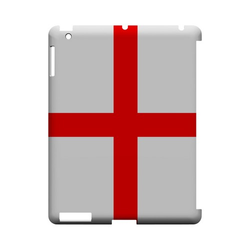 England Geeks Designer Line Flag Series Slim Hard Case for Apple iPad (3rd & 4th Gen.)