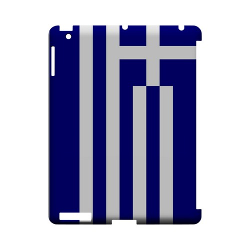 Greece Geeks Designer Line Flag Series Slim Hard Case for Apple iPad (3rd & 4th Gen.)