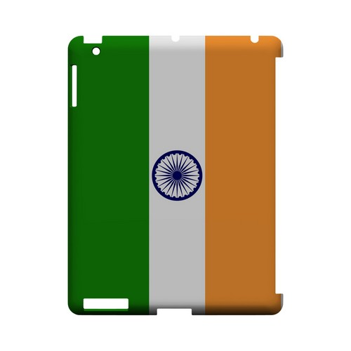 India Geeks Designer Line Flag Series Slim Hard Case for Apple iPad (3rd & 4th Gen.)
