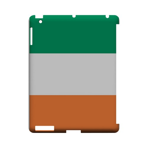 Ireland Geeks Designer Line Flag Series Slim Hard Case for Apple iPad (3rd & 4th Gen.)