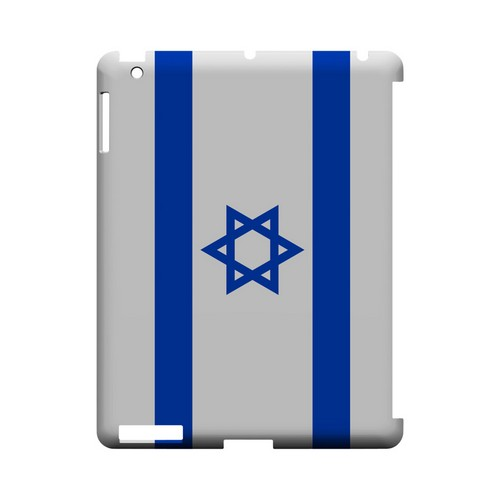 Israel Geeks Designer Line Flag Series Slim Hard Case for Apple iPad (3rd & 4th Gen.)