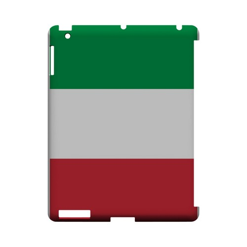 Italy Geeks Designer Line Flag Series Slim Hard Case for Apple iPad (3rd & 4th Gen.)
