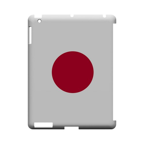 Japan Geeks Designer Line Flag Series Slim Hard Case for Apple iPad (3rd & 4th Gen.)